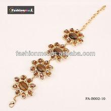 Fashionme sunshine style gold bracelet designs women