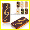 Luxury Bling Hard Case for Samsung Galaxy S4 i9500 Ultrathin Slim Plastic Phone Case Bees Nest & S Line Style 2013 New Hot Sell