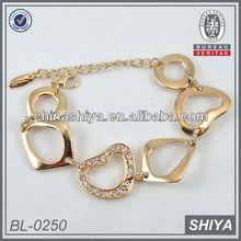 2012 fashion beads rhinestone pave infinity bracelet