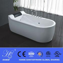 HANSE black color bath bathtubs /oval freestanding dog bathtubs HS-B537