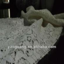 wholesaler turkey 30%Nylon 70%Cotton Lace fabric