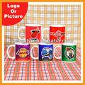logotipo personalizado taza de café hecho de china