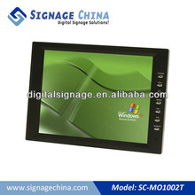 "10""/12"" Mini Digital Signage LCD Monitors with VGA/AV Port for Industrial Grade"