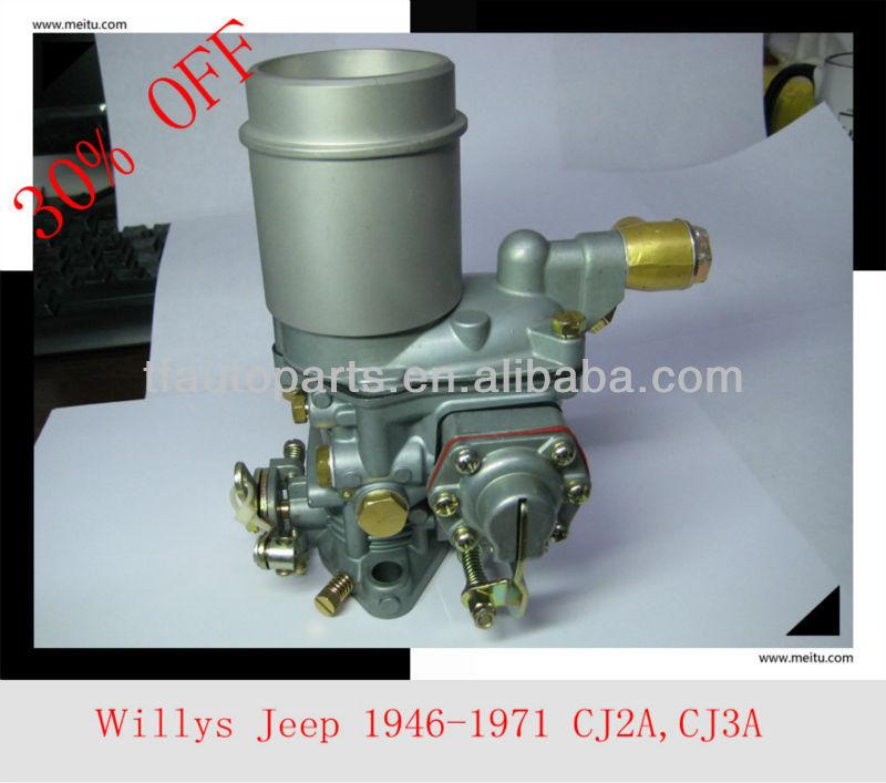 Jeep Willys carburateur 1946 - 1971 cj2a, Cj3a