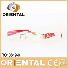 half frame decorative glasses eyewear