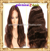 Best selling top quality large stock jewish wig made in china qingdao