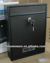 wall mounted metal post mailbox (LB-317)