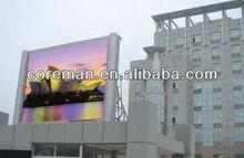 alibaba shop coreman brand roof,street,roadside,highway advertising video led full color screen p10,p25