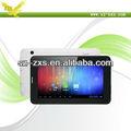Zhixingsheng 2013 venda superior allwinner a13 1.5 ghz ram 512mb 4gb tablet pc com chamada de voz e bluetooth 7 a13-747 polegadas