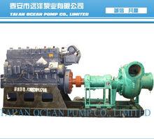 Sludge pumps for sand pumping platform