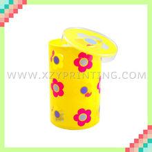 Cylindrical popular high quality plastic box gift