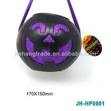 Plastic candy bucket halloween candy bucket candy bucket skull shape bucket pumpkin bucket