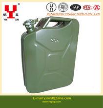 20L portable metal gasoline barrel