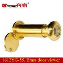 digital video door viewer with cover 160 degree brass door eye