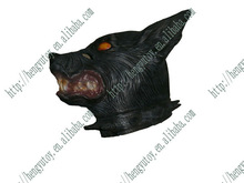 Halloween brown Creepy Adult Wolf Mask latex Rubber Mask Costume Prop Novelty Halloween Mask