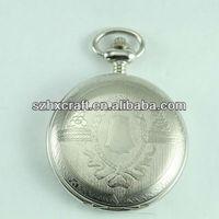 Wholesale pocket watch,Japan movement pocket watch body