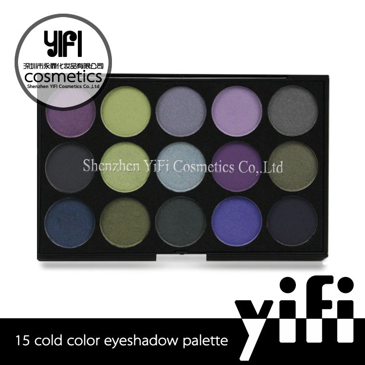 New! 15 cold color natural eyeshadow palette in Eye Shadow