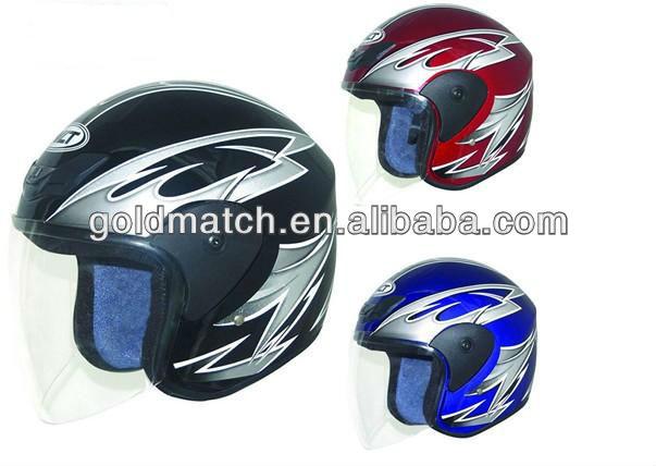 DOT ECE Motorcycle half face motorcycle helmet