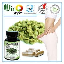 Café verde cápsulas/perda de peso cápsulas