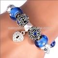 925 perline argento bracciali europeo perline braccialetto