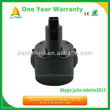 14.4V black replacement ni-cd bttery for dewalt tools