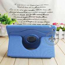 PU Leather Wallet Case For Ipad Mini Colorful Canvas U3205-123