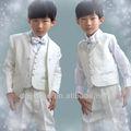 De moda del bebé bautizo de los muchachos trajes de venta directa de la fábrica