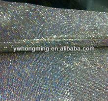 2013 Top-seller crystal rhinestone mesh clear AB,wholesale aluminum base rhinestone mesh 6mm for garment decoration!