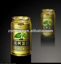 tin type herbal tea drink hot filling machine