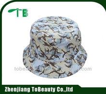 Cotton twill men designer bucket hat