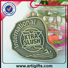 Cheap custom medal with antique brass plated