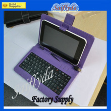 2013 new SF-PUK07 Leather Keyboard case 7 inch for Tablet PC