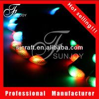 2013 party favor lights color changing led flash gloves