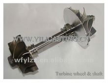 Nickel-base alloy vacuum casting used for turbocharget kits turbo