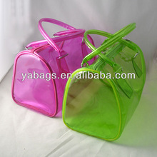 clear travel cosmetic pouch