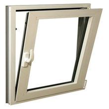 Aluminum single hinge window two way opening tilt and turn window