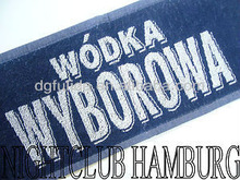 WODKA WYBOROWA BAR TOWEL CLUB BARTUCHBARMATTE BAR MAT BISTRO NEU
