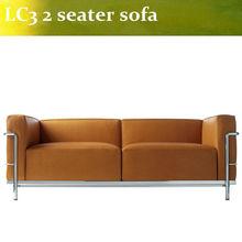 Charles Le Corbusier LC3 Grande 2 seater sofa (replica)