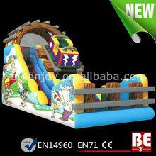 Inflatable Roller Coaster Slide For Kids