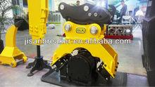 Hitachi komatsu Excavator Hydraulic Compactors, Plate Compactor for excavator