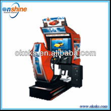 Race car for 1 player/ arcade simulator game machine