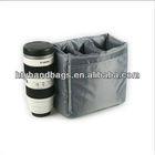 SLR Portable Camera Inner Partition Padded Protector Case Bag Fit 1xDSLR+1-2Lens