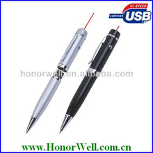 OEM Practical USB flash drive pen two button and double laser