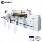 For wood cutting reciprocating panel saw machine