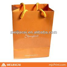 customed 4C print paper bags kraft paper handbag