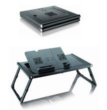 Adjustable Leg Fold Computer Desk