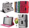 Luxury leather colorful case for ipad mini