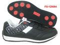nuevo diseño de famosos zapatos para caminar de los hombres