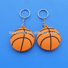 3D basketball designed key chain