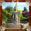 Cascade fontaine de jardin, fontaine murale, grande fontaine de jardin wm0077